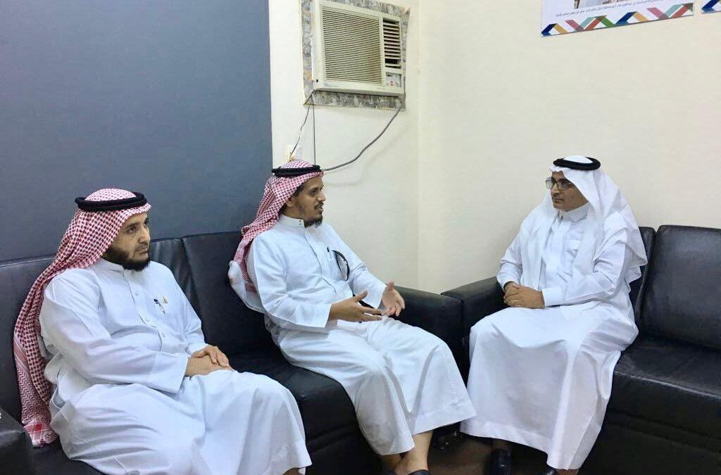 جمعية منار للإعلام بجازان تستقبل وفداً من مؤسسة الراجحي الخيرية بجازان